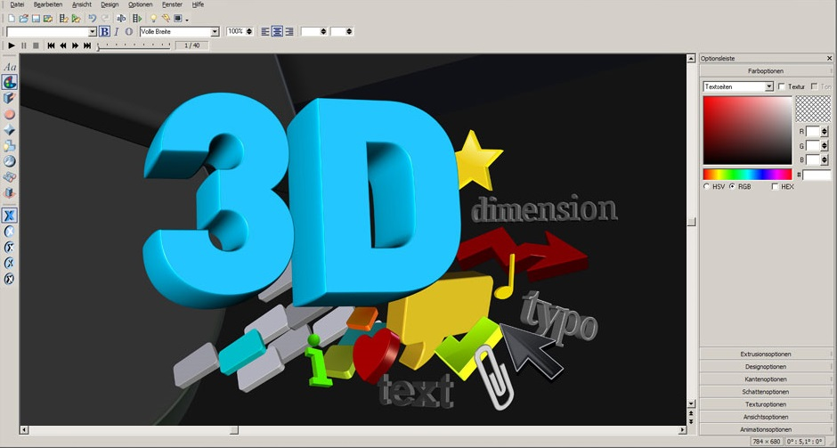 3D Maker 7 Screen