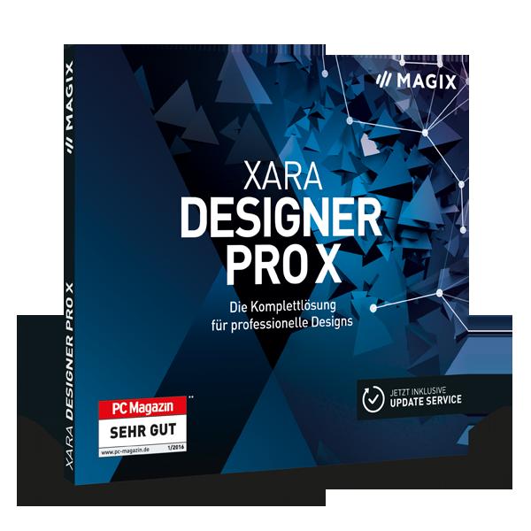 Xara Designer pro X kostenlos testen